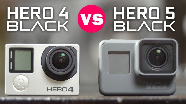 GoPro Hero5 Black vs GoPro Hero 4 Black