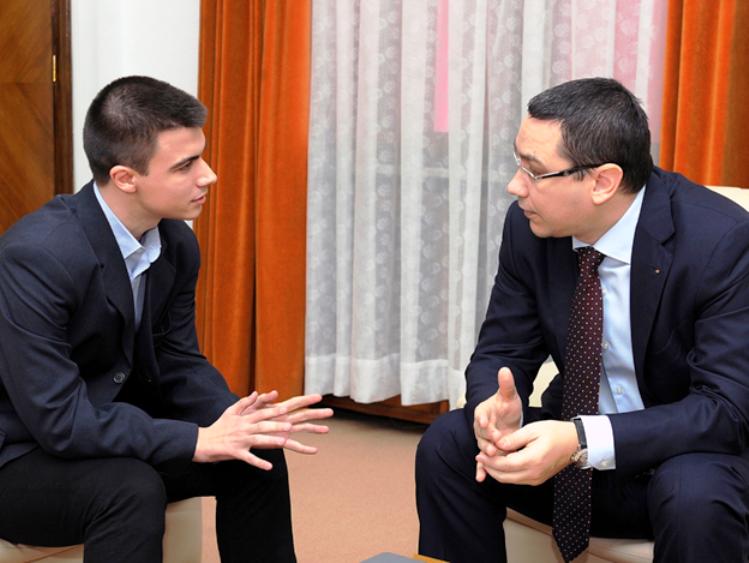 Victor Ponta si Cristian Botan