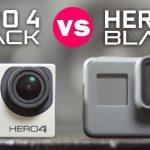 GoPro Hero5 Black vs GoPro Hero 4 Black